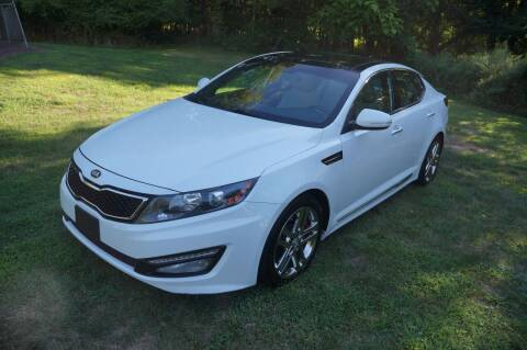 2013 Kia Optima for sale at Autos By Joseph Inc in Highland NY