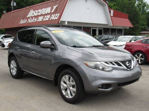 2014 Nissan Murano for sale at Discount Auto Sales in Pell City AL