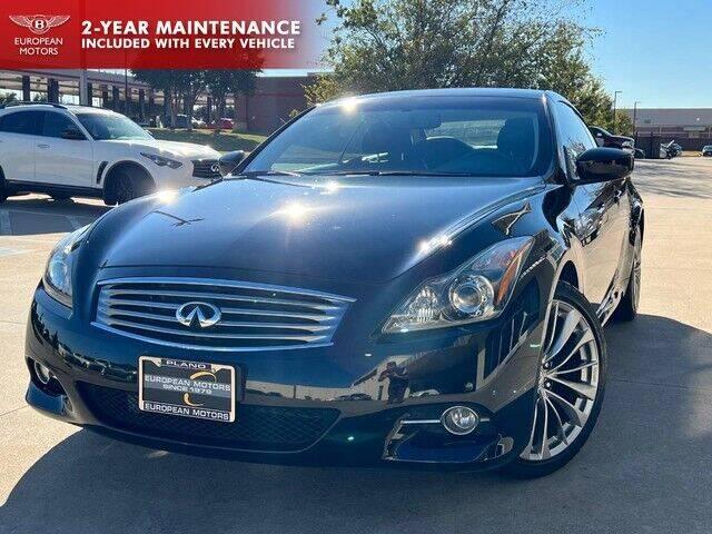 2012 Infiniti G37 Convertible for sale at European Motors Inc in Plano TX