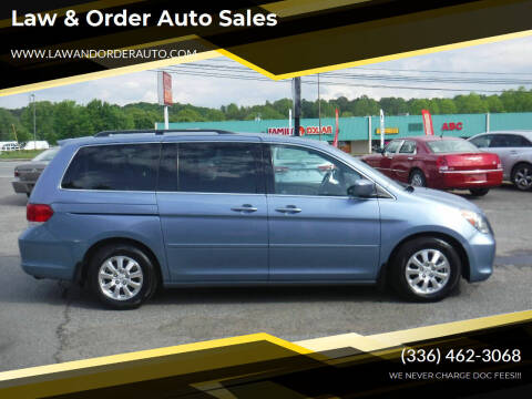 2008 Honda Odyssey for sale at Law & Order Auto Sales in Pilot Mountain NC