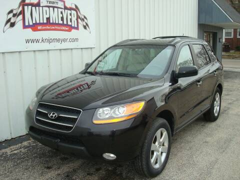 2009 Hyundai Santa Fe for sale at Team Knipmeyer in Beardstown IL