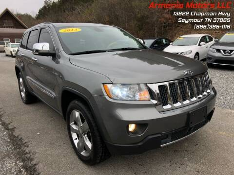 2013 Jeep Grand Cherokee for sale at Armenia Motors in Seymour TN