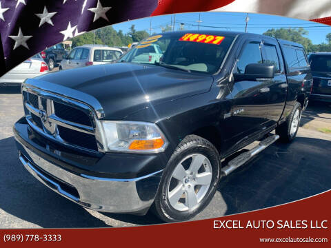 2010 Dodge Ram Pickup 1500 for sale at Excel Auto Sales LLC in Kawkawlin MI