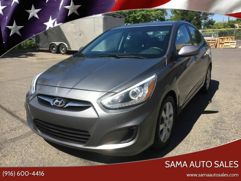 2014 Hyundai Accent for sale at Sama Auto Sales in Sacramento CA