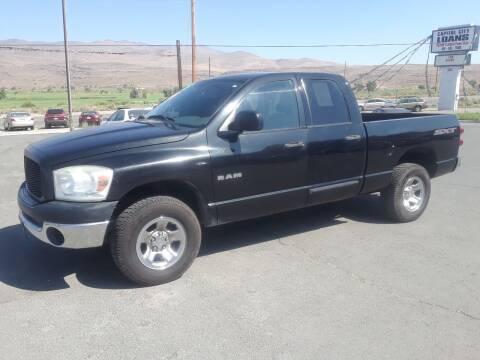 2008 Dodge Ram Pickup 1500 for sale at Super Sport Motors LLC in Carson City NV