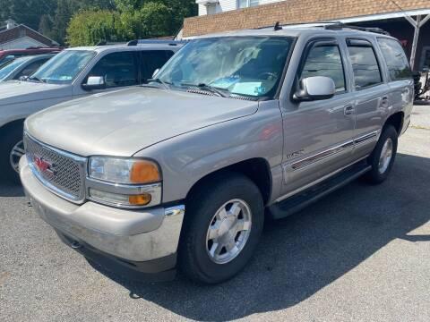 2006 GMC Yukon for sale at TNT Auto Sales in Bangor PA