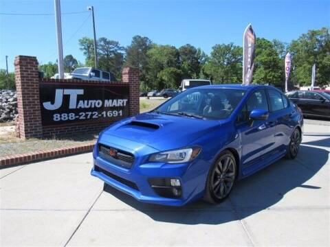 2016 Subaru WRX for sale at J T Auto Group in Sanford NC