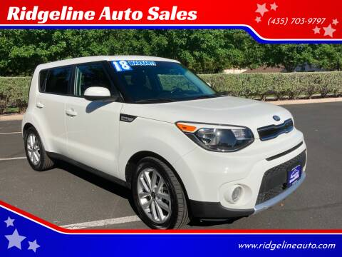 2018 Kia Soul for sale at Ridgeline Auto Sales in Saint George UT
