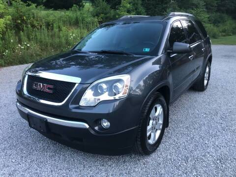 2011 GMC Acadia for sale at R.A. Auto Sales in East Liverpool OH