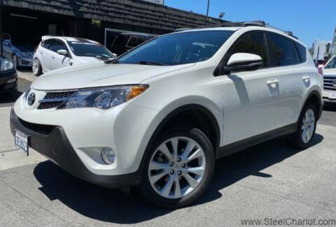 2014 Toyota RAV4 for sale at Steel Chariot in San Jose CA