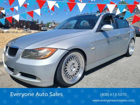 2006 BMW 3 Series for sale at Everyone Auto Sales in Santa Clara CA