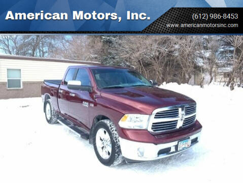 2017 RAM Ram Pickup 1500 for sale at American Motors, Inc. in Farmington MN