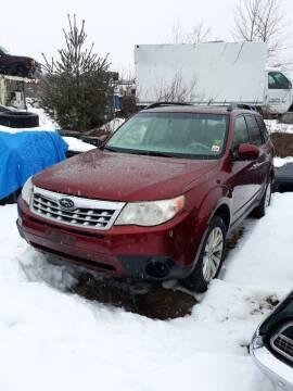 2012 Subaru Forrester for sale at Classic Heaven Used Cars & Service in Brimfield MA