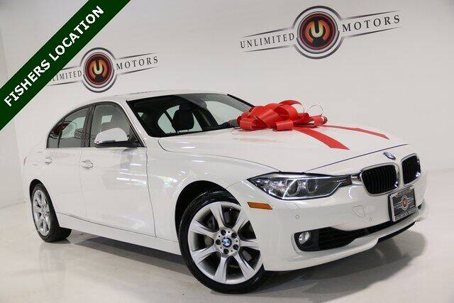 2015 BMW 3 Series for sale at Unlimited Motors in Fishers IN