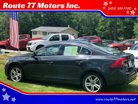 2015 Volvo S60 for sale at Route 77 Motors Inc. in Weare NH