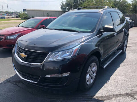 2016 Chevrolet Traverse for sale at Kasterke Auto Mart Inc in Shawnee OK