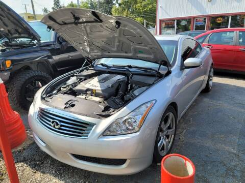2010 Infiniti G37 Coupe for sale at J & J Used Cars inc in Wayne MI