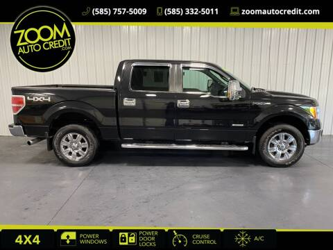 2012 Ford F-150 for sale at ZoomAutoCredit.com in Elba NY
