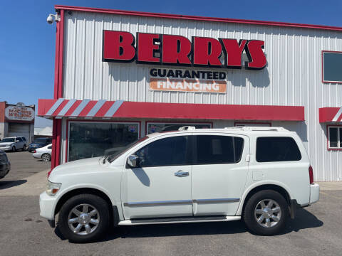 2004 Infiniti QX56 for sale at Berry's Cherries Auto in Billings MT