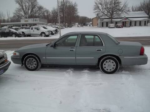 2006 Mercury Grand Marquis for sale at BRETT SPAULDING SALES in Onawa IA