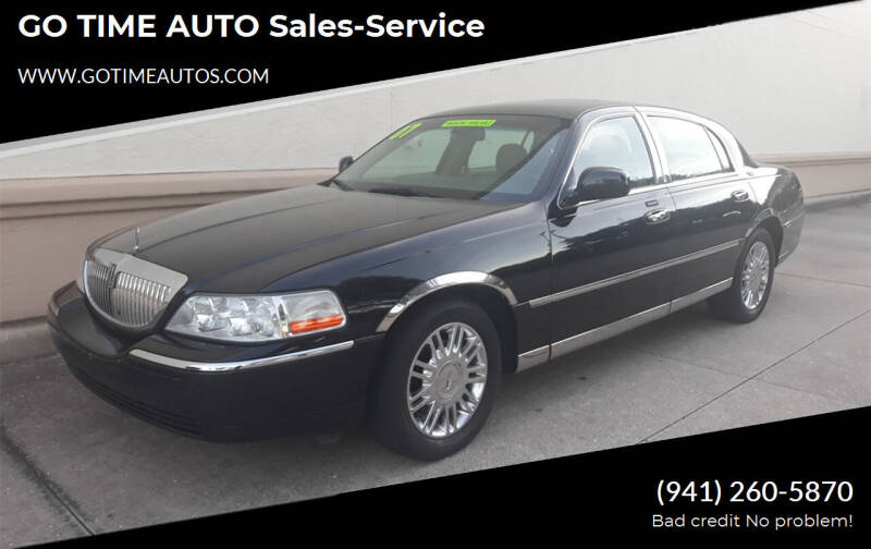 2007 Lincoln Town Car for sale at Go Time Automotive in Sarasota FL