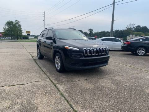 2015 Jeep Cherokee for sale at Exit 1 Auto in Mobile AL