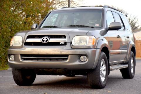 2006 Toyota Sequoia for sale at Wheel Deal Auto Sales LLC in Norfolk VA