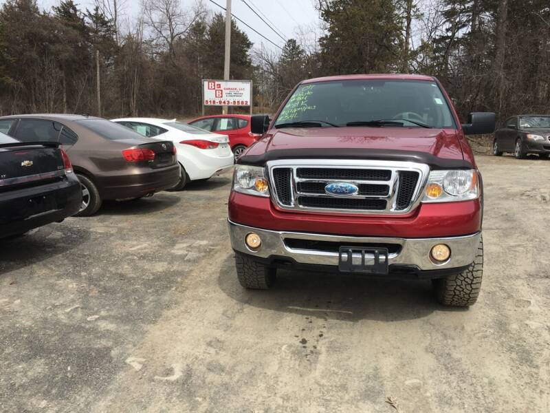 2007 Ford F-150 for sale at B & B GARAGE LLC in Catskill NY