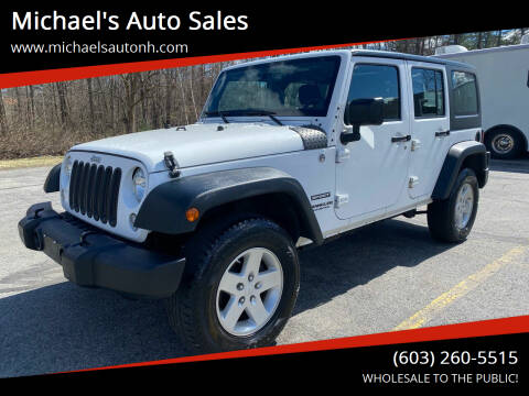 2014 Jeep Wrangler Unlimited for sale at Michael's Auto Sales in Derry NH