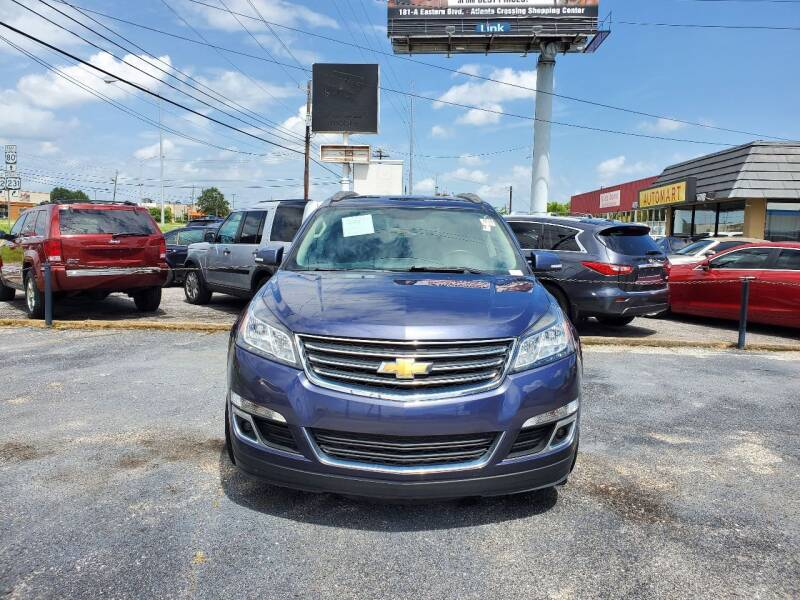 2014 Chevrolet Traverse for sale at Dependable Auto Sales in Montgomery AL