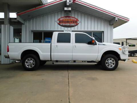 2015 Ford F-250 Super Duty for sale at Motorsports Unlimited in McAlester OK