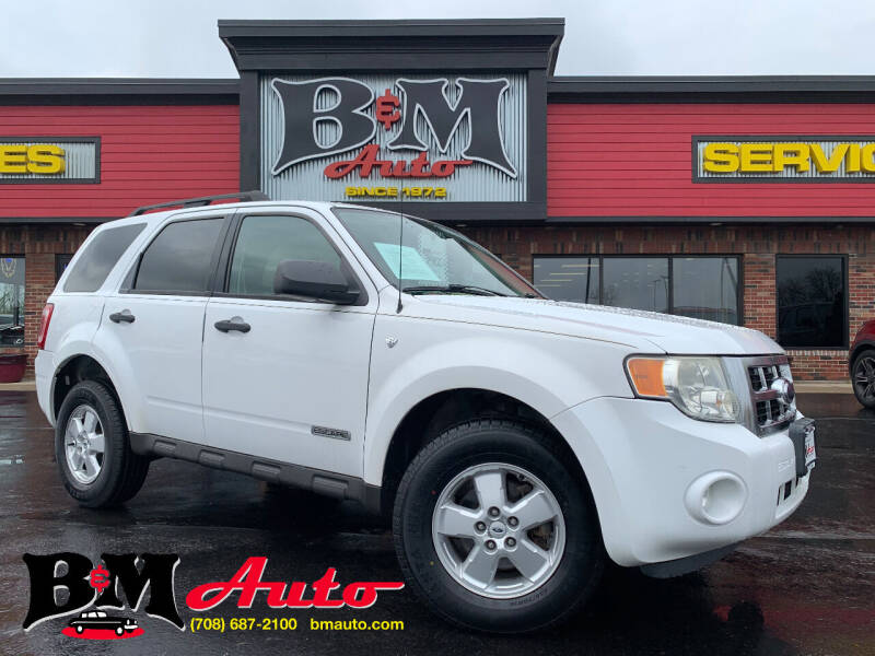 2008 Ford Escape for sale at B & M Auto Sales Inc. in Oak Forest IL
