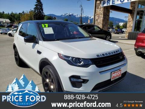 2017 Land Rover Discovery Sport for sale at Price Ford Lincoln in Port Angeles WA