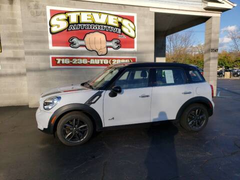 2013 MINI Countryman for sale at Steve's Automotive Inc. in Niagara Falls NY