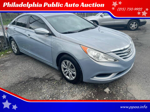 2012 Hyundai Sonata for sale at Philadelphia Public Auto Auction in Philadelphia PA