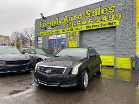 2017 Cadillac ATS for sale at Friendly Auto Sales in Detroit MI