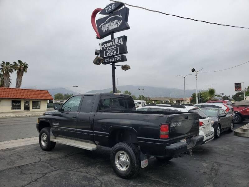 2000 Dodge Ram Pickup 2500 for sale at Speedway Motors in Glendora CA