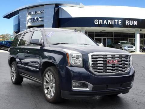 2018 GMC Yukon for sale at GRANITE RUN PRE OWNED CAR AND TRUCK OUTLET in Media PA