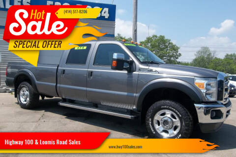 2011 Ford F-250 Super Duty for sale at Highway 100 & Loomis Road Sales in Franklin WI