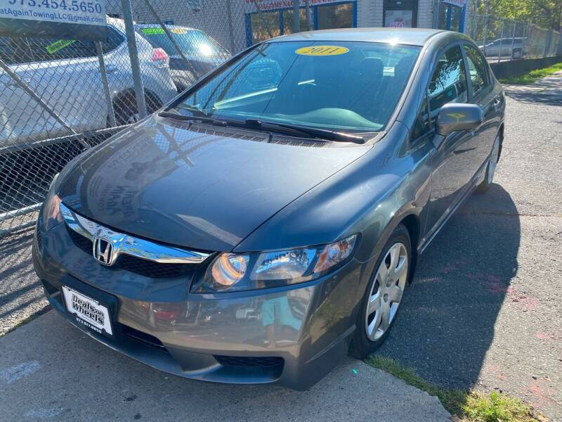 2011 Honda Civic for sale at DEALS ON WHEELS in Newark NJ