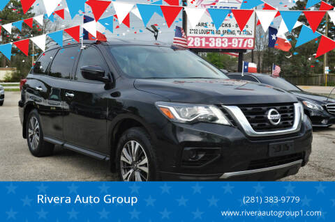 2017 Nissan Pathfinder for sale at Rivera Auto Group in Spring TX