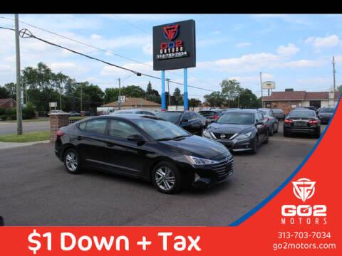 2020 Hyundai Elantra for sale at Go2Motors in Redford MI