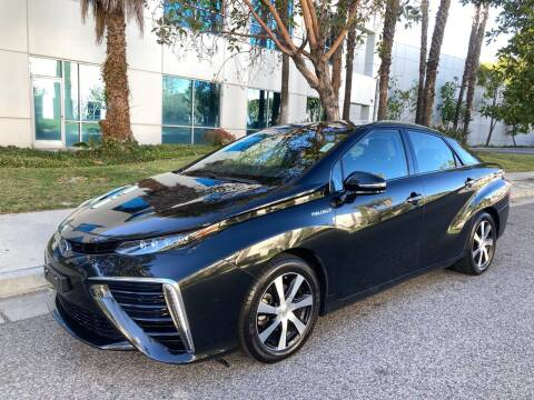 2017 Toyota Mirai for sale at Trade In Auto Sales in Van Nuys CA