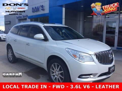 2017 Buick Enclave for sale at DON'S CHEVY, BUICK-GMC & CADILLAC in Wauseon OH
