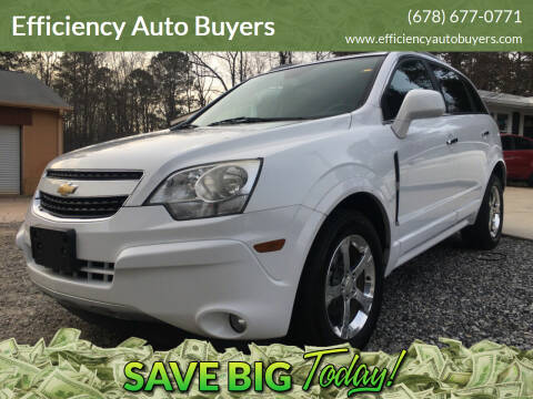 2013 Chevrolet Captiva Sport for sale at Efficiency Auto Buyers in Milton GA