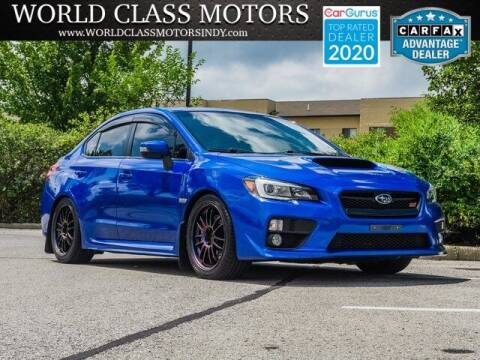 2017 Subaru WRX for sale at World Class Motors LLC in Noblesville IN
