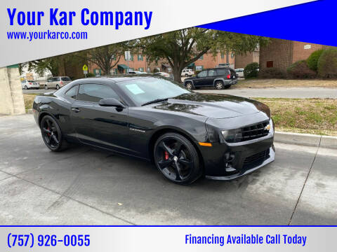2013 Chevrolet Camaro for sale at Your Kar Company in Norfolk VA