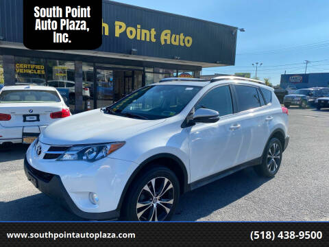 2015 Toyota RAV4 for sale at South Point Auto Plaza, Inc. in Albany NY