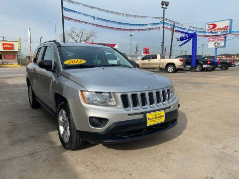 2013 Jeep Compass for sale at Russell Smith Auto in Fort Worth TX