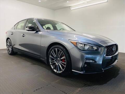 2019 Infiniti Q50 for sale at Champagne Motor Car Company in Willimantic CT
